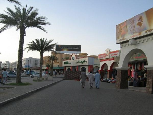 阿曼苏丹国的风俗礼仪--马斯喀特街景