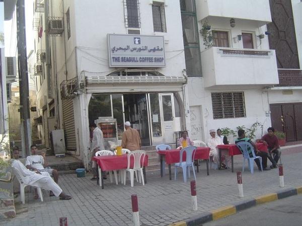 阿曼苏丹国的风俗礼仪--街边的咖啡店