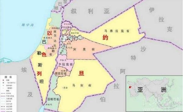 巴勒斯坦风俗禁忌--地图