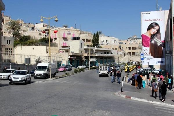 巴勒斯坦风俗禁忌--伯利恒一街景