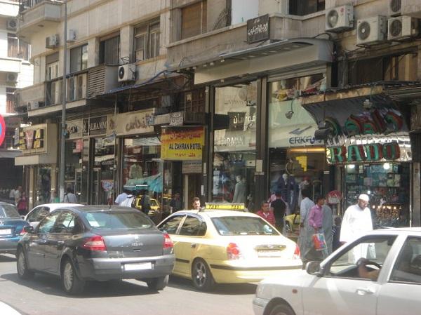 叙利亚风俗禁忌--大马士革(Damascus)一条商业街