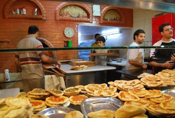 叙利亚风俗禁忌--大马士革(Damascus)比萨饼店