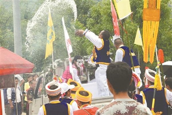 """白族传统节日大全--白族端午""""圣水""""节"""