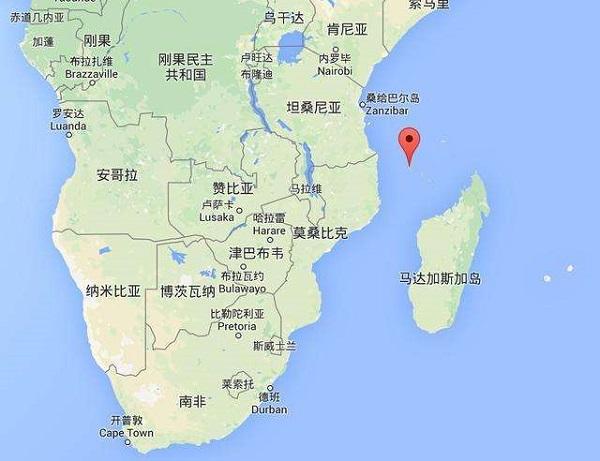 科摩罗旅游指南--地图